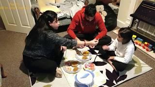 SIMPLE INDIAN DINNER ROUTINE ||Days after Diwali|| Dahi Baingan and Masoor Dal || Indian Mom's Life