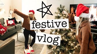 the-most-festive-vlog-ever-decorating-my-apartment-for-christmas-target-haul