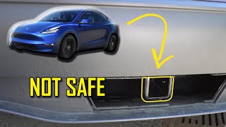 DO NOT Install This Aftermarket Hitch on Your Tesla Model Y