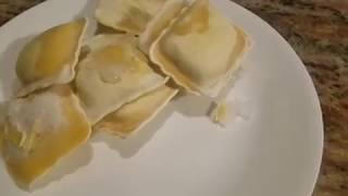이탈리아 요리  만두 파스타  라비올리  만들기  Ho…