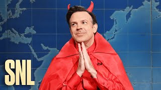Weekend Update: The Devil on His Latest Accomplishments - SNL
