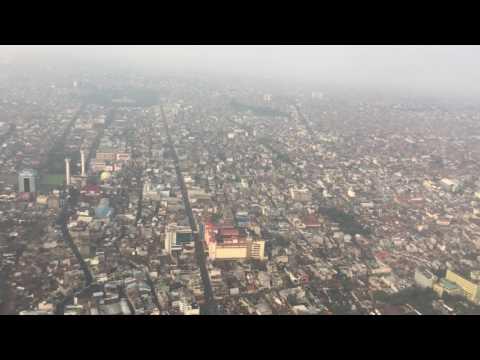 Kota Bandung Terlihat Dari Udara