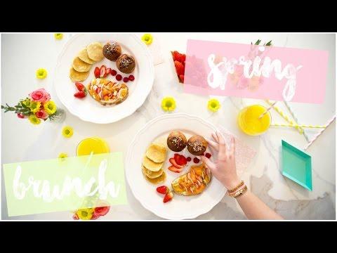 [ BRUNCH n°1  ] : SPRING BRUNCH ( Pancakes, Muffins etc ... ! )