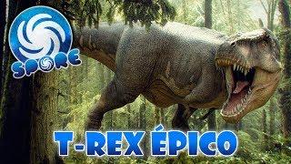 """Jogando com o T-Rex 2.0 utilizando o mod que deixa a criatura """"épic..."""