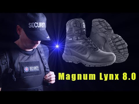 Full Review:   Magnum Lynx 8.0; Tactical Police Security Patrol Boots