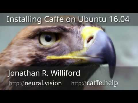 Install Caffe on Ubuntu 16.04