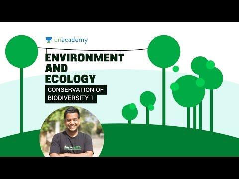 EnE: Conservation of Biodiversity 2.5.1 Unacademy UPSC IAS Preparation Roman Saini