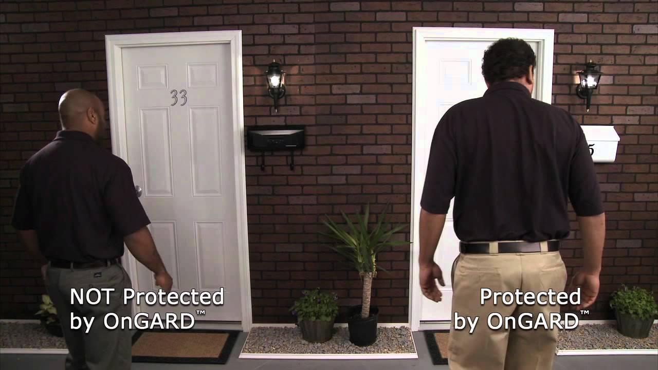 Stop Front Door Kick Ins | The OnGARD Brace Prevents Burglaries u0026 Home Invasions. - YouTube & Stop Front Door Kick Ins | The OnGARD Brace Prevents Burglaries ...