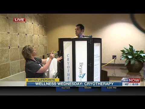 10/11 NOW: Cryotherapy at Bryan LifePointe