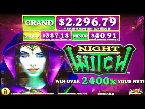 ++NEW Night Witch slot machine, DBG