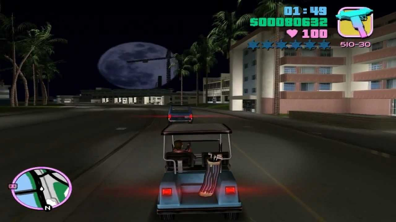 Grand Theft Auto: Vice City - Mission #50 - Sunshine Autos - Wanted List #4  - Caddy