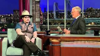 David Letterman - Johnny Depp: Justin Bieber Fan?