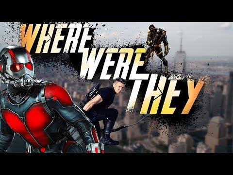 איפה הוקאיי ואנטמן בזמן הנוקמים: מלחמת האינסוף?!