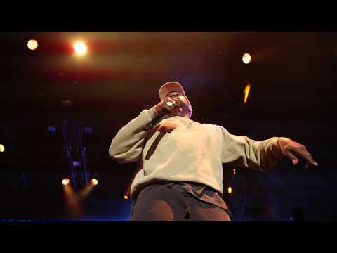 Kid Cudi & Kanye West Full Performance at Adidas 747 Event