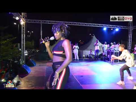 Ebony - Performance at YFM & Junction Mall Anniversary concert