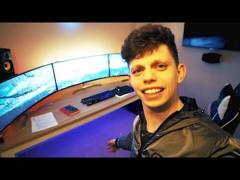 Home Gaming Setup is gonna be LIT AF!!!