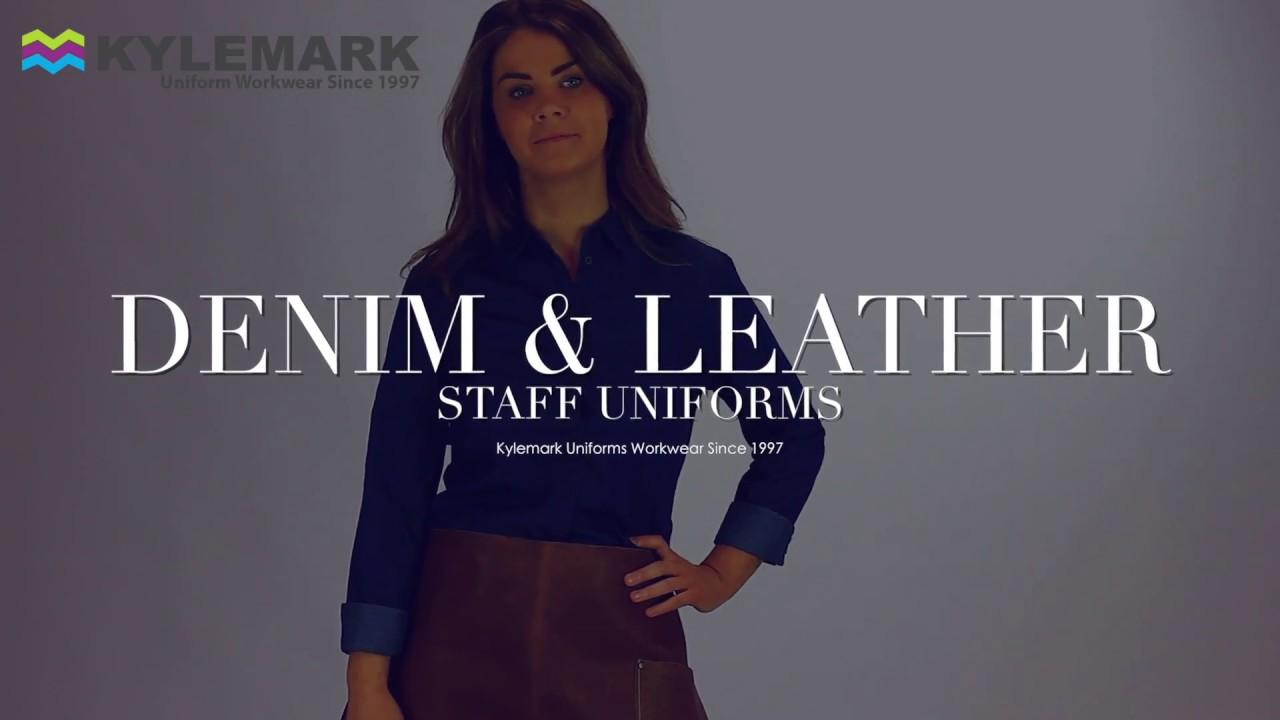 8bfa18015e5 Leather   Denim - Kylemark Uniform Workwear - YouTube