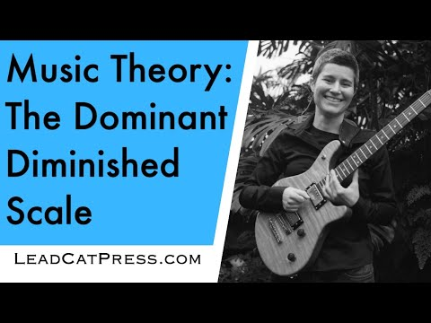 The Dominant Diminished Scale (Music Theory Guitar Lesson) 17/30