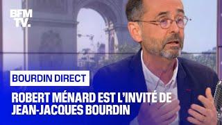 Robert Ménard face à Jean-Jacques Bourdin en direct