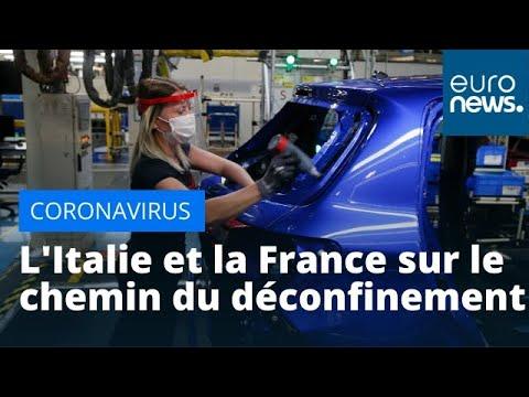 Coronavirus: l'Italie et la France sur le chemin du déconfinement