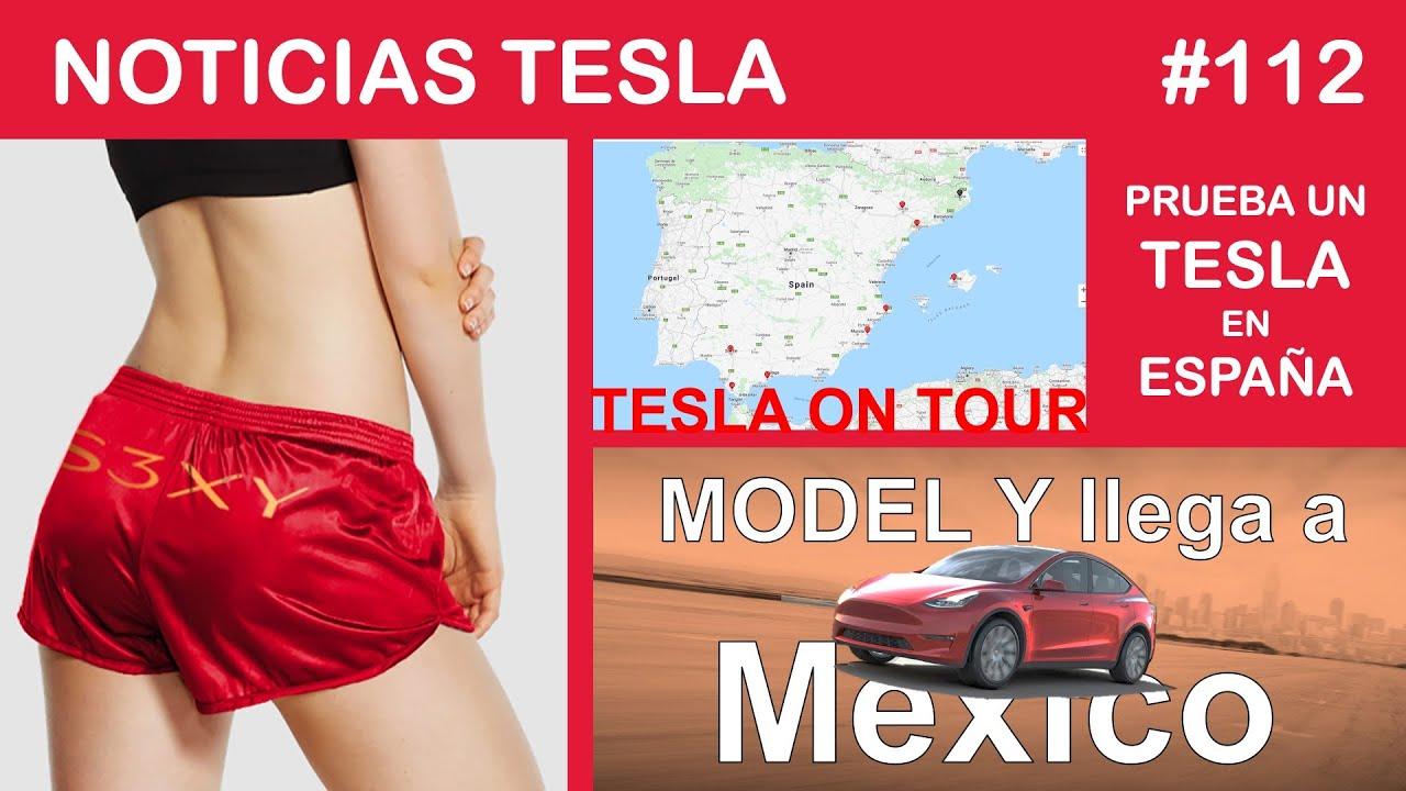 PRUEBA un TESLA en ESPAÑA - El MODEL Y llega a MEXICO  - pantalones muy cortos de Tesla.