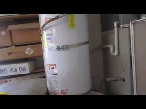 Rheem Guardian water heater (that's getting cleaned up)