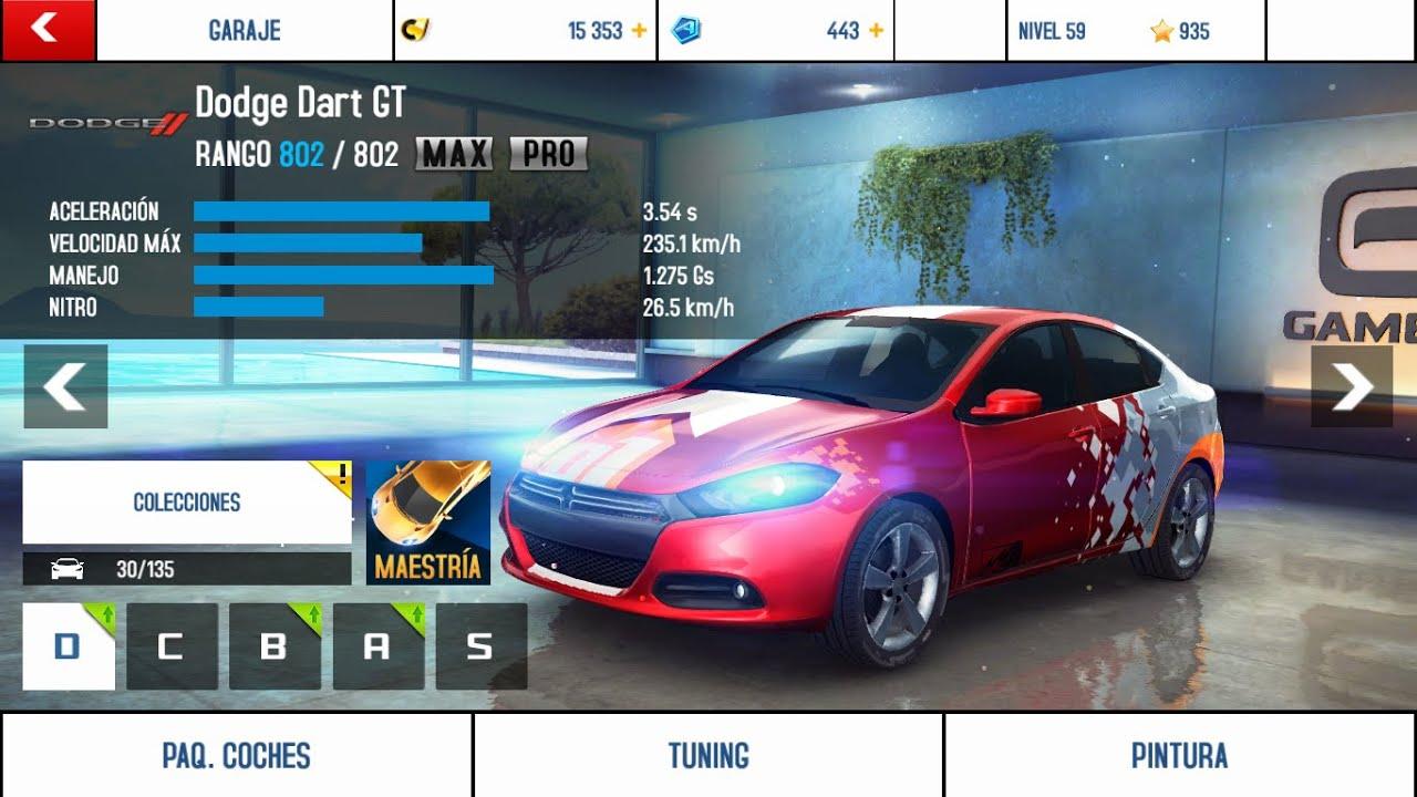 2016 Dodge Dart Gt >> Asphalt 8 - Dodge Dart GT - MAX/PRO - Clase D - YouTube
