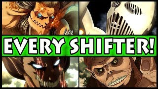 All 9 Titan Shifters and Their Powers Explained! (Attack on Titan / Shingeki no Kyojin + War Hammer)
