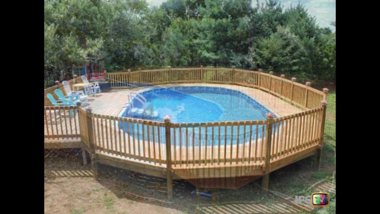 All About Above Ground Swimming Pools Youtube
