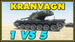 World of Tanks | Kranvagn - 8 Kills - 9.6K Damage