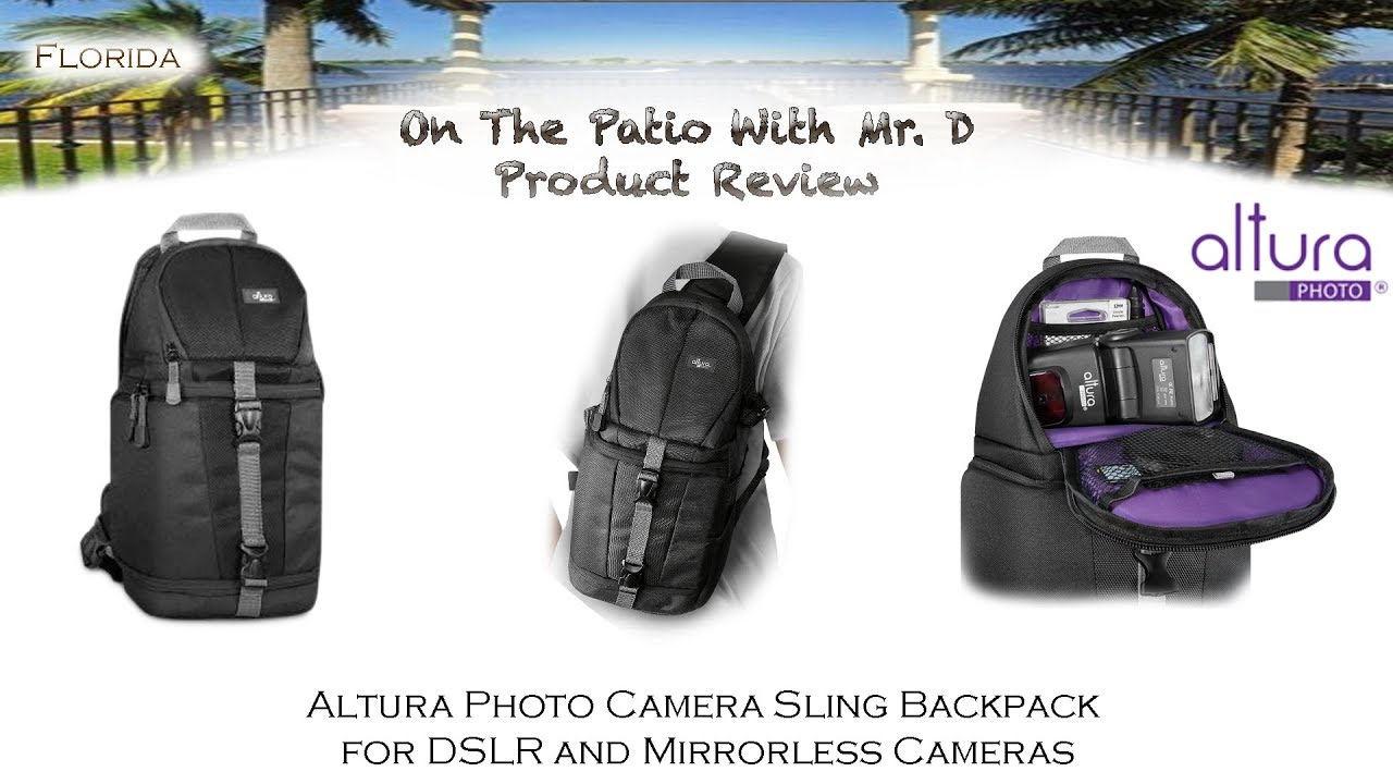 Altura Sling Camera Backpack Youtube