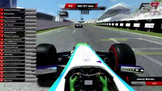Positive SimRacing 2014 Formula SimRacing Highlights