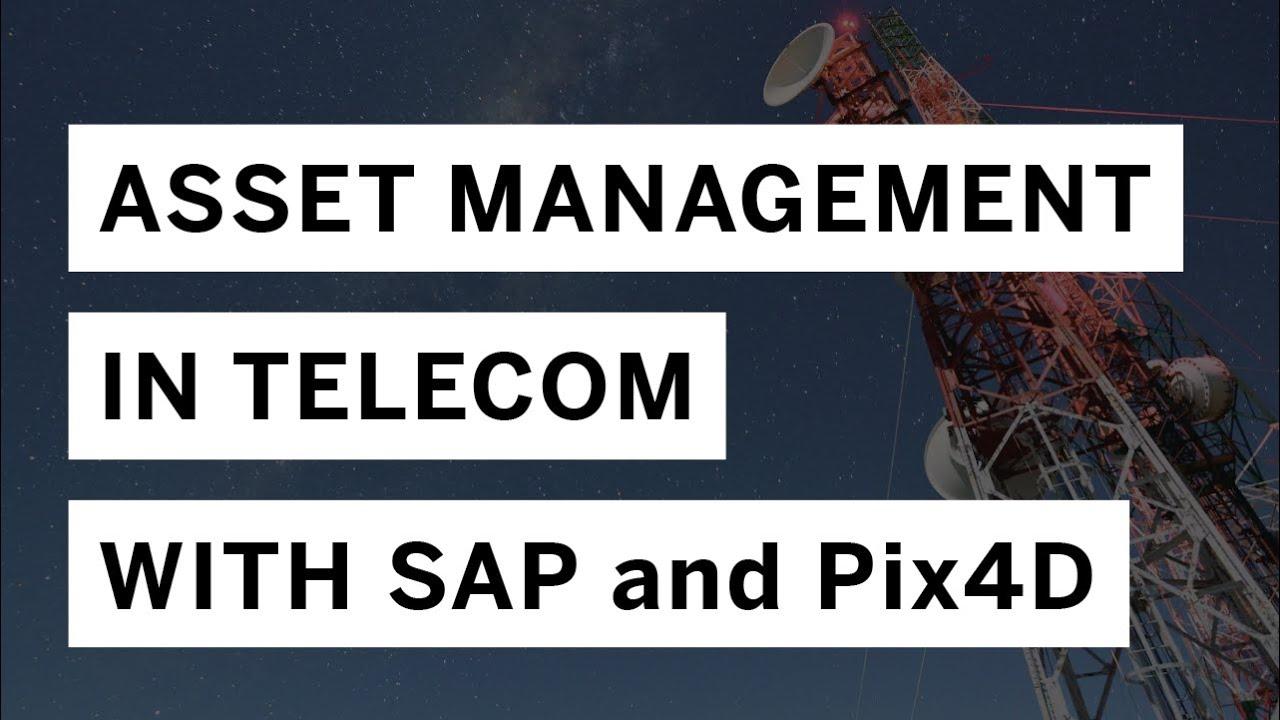 Pix4DとSAPが提携