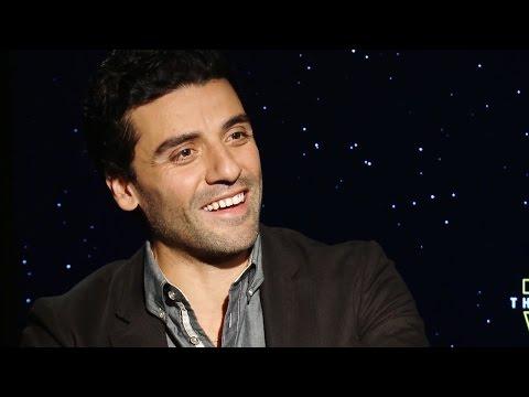 Oscar Isaac Talks Poe Dameron