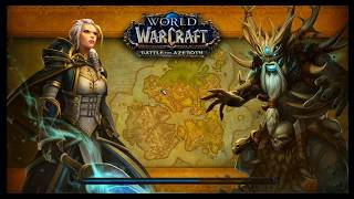 World of Warcraft BFA (Battle for Azeroth) New World of Warcraft Release