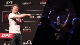 Darren Till Invades Ben Askren's Q&A at UFC London