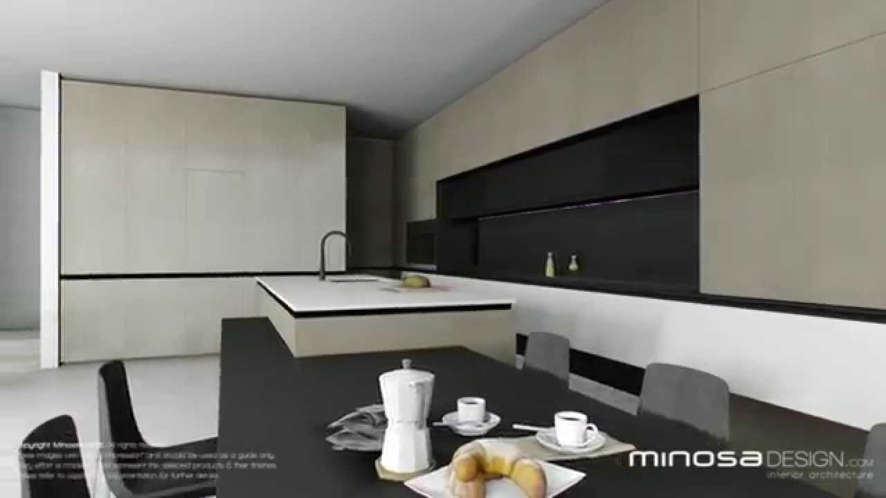 The Modern Living Room   Kitchen, Dinning, Lounge U0026 Home Office   YouTube