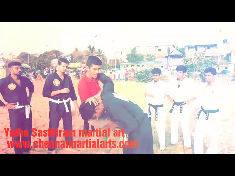 Yutha sasthiram martial art techniques for street fight