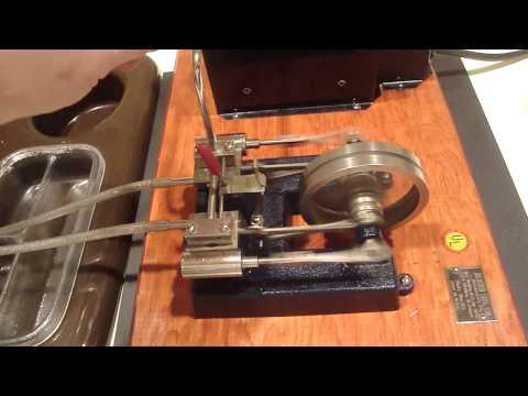 1950's Jensen Steam Engine #55 Live Steam Test