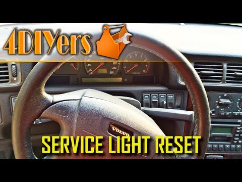 DIY: How to Reset Volvo S70 V70 C70 Service Light