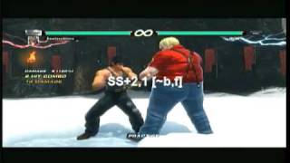 Tekken 6: Marshall Law DSS Tutorial