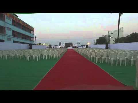 BMRS GRAMMAR HIGH SCHOOL 8th annual day OJAS'16 stage view