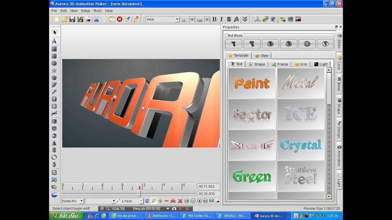 Hướng Dẫn Cài Đặt Phần Mềm Tạo Video Giới Thiệu Sản Phẩm 3D