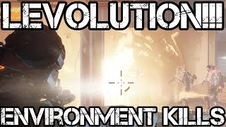 LEVOLUTION!!! Environment KILLS...AWESOME!!! - The Division