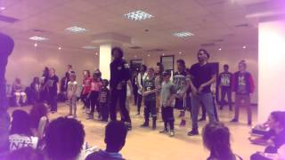Les Twins Manchester Workshop Laurent S HILARIOUS Moments During His Choreography
