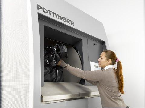 MULTIPRESS ECO in practical use Pöttinger Entsorgungstechnik [en]