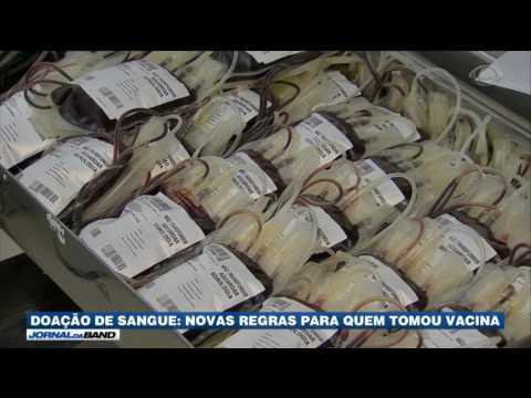 Bancos de sangue estão com estoque baixo no Sudeste