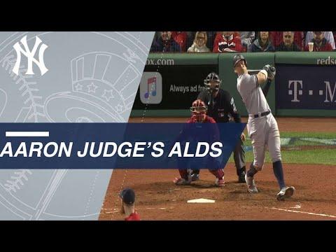 Best of Aaron Judge's 2018 ALDS vs. the Red Sox