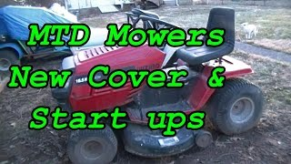 Mower cover & cold starts