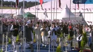 Jalsa Salana UK 2012 Flag Hoisting Ceremony - Islam Ahmadiyya